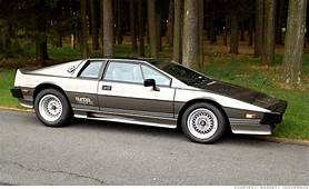 1980 Lotus Esprit Turbo  10 James Bond Cars You Can