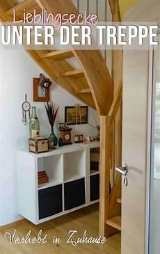 treppen die wenig platz brauchen verliebt in zuhause lieblingsecke unter der treppe