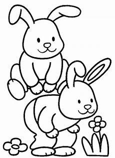 ausmalbilder malvorlagen kaninchen kostenlos zum