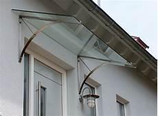 vordach edelstahl mit glas vordach hauseingang
