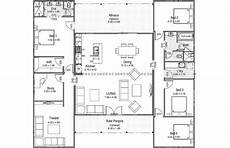 house plans with breezeway the breezeway with images floor plans house plans