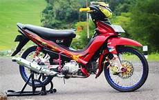 Modifikasi Jupiter Z Simple by Modifikasi Jupiter Z Konsep Racing Thailook Road Race