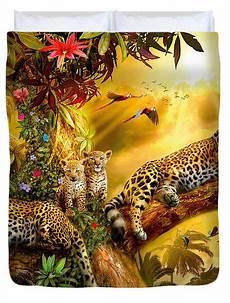 jungle jaguars digital art by jan patrik krasny