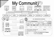 my community esl worksheet by dedicatedteacher