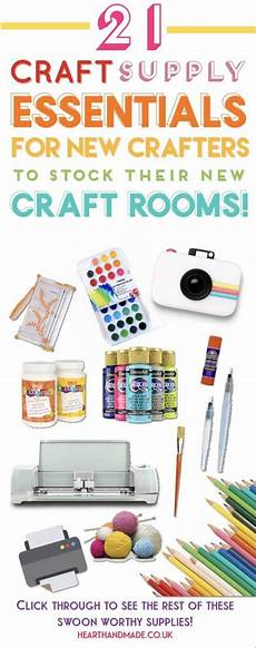21 craft supply essentials for a well stocked craft room