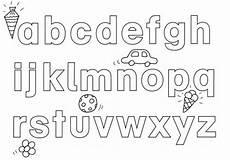 kostenlose malvorlage buchstaben lernen abc ausmalen zum