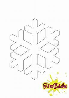 Schneeflocke Malvorlage Einfach Ausmalbild Schneeflocke Kostenlose Malvorlage