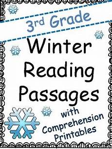 winter reading comprehension worksheets 3rd grade 20182 third grade winter reading passages and comprehension by meaningful teaching
