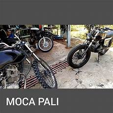 Megapro Modif Trail Klasik by Modifikasi Trail Klasik Mesin Mega Pro