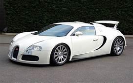 Sports Cars Bugatti Veyron White