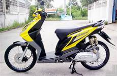 Modifikasi Motor Beat 2014 by Foto Modifikasi Motor Honda Beat Air Brush Simple