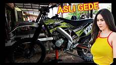Vixion Modif Trail by Modifikasi Yamaha Vixion Jadi Trail Wr155 Cirebon