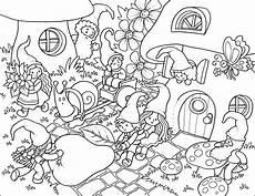 gnome time colouring page 187 bamboletta