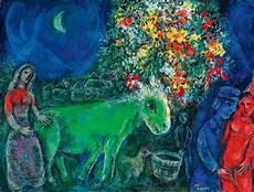 Marc Chagall Werke - marc chagall 1887 1985 l 226 ne vert impressionist