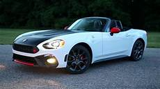2019 Fiat 124 Spider Abarth Running Footage