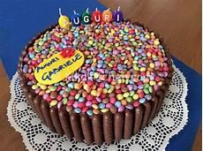 crema alla nutella per torte torta smarties e togo con crema alla nutella ricetta torte di compleanno al cioccolato