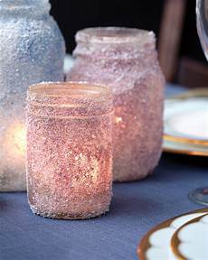 diy candle holders how to make sparkly votives