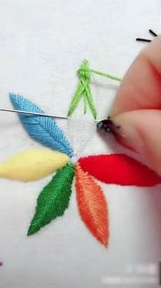 This Tutorial Shows How A Simple Satin Stitch Can Be Used