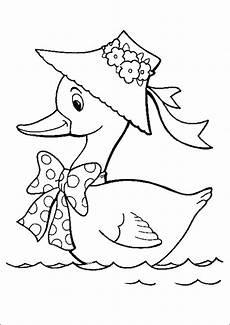 Lustige Enten Ausmalbilder Ausmalbilder Enten 12 Ausmalbilder Tiere