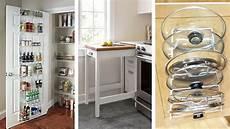 12 easy small kitchen storage ideas youtube