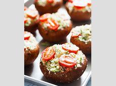 stuffed microwave mushrooms_image