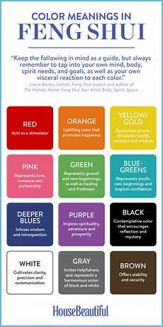 color the holistic feng shui way my for house