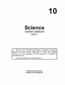 science worksheets grade 10 13415 g10 science earth and space learner s module 1st quarter