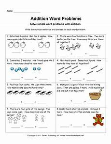 addition word problem worksheets for kindergarten 11338 addition word problems 1
