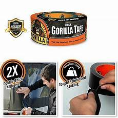 Photograpic Strong Duct Black Waterproof Thick by Gorilla Strong Duct Heavy Duty Thick Black