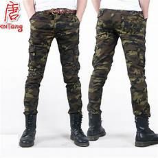 fashion camo casual trouser 2016 thin