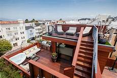 most ridiculous roof deck in sf for rent apartment included curbed sf