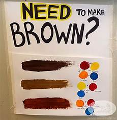 what paint color makes brown what paint colors make brown myideasbedroom color chart in 2019