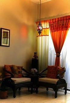 Living Room Ethnic Indian Home Decor Ideas by The Curtain Combo Is Sheer Brilliance Indian Home Decor