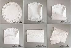 faire part mariage diy merry brides diy lace paper doily envelopes