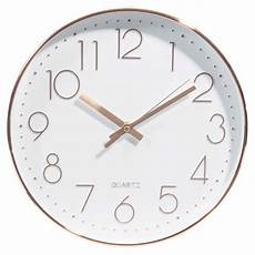 swaggy copper clock d 31 cm maisons du monde