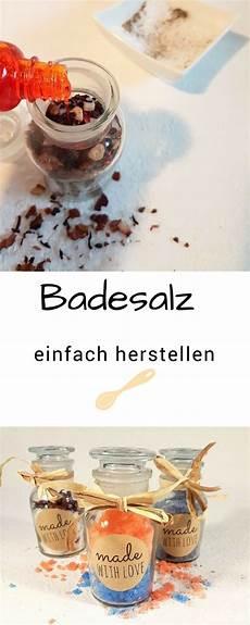 Diy Badesalz Herstellen Pretty You Content Diy