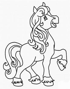 Malvorlage Filly Pferd Filly Pferd Zum Ausmalen Ausmalbilder