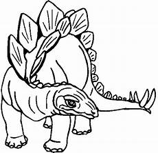 Gambar Mewarnai Dinosaurus Gambar Mewarnai Lucu