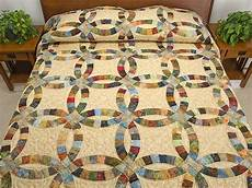 wedding ring quilt double wedding ring quilt splendid skillfully made amish quilts