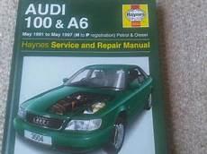 audi 100 a6 petrol diesel 1991 1997 haynes service repair manual uk sagin workshop car manuals vintage rare petrol thorens lighter for parts or repair on popscreen