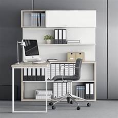 libreria con scrivania integrata scrivania con libreria integrata