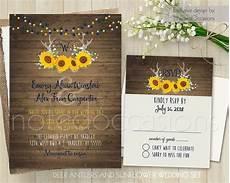 printable wedding invitation suite deer antler pink floral modern floral summer wedding invitation set