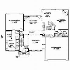 barklage georgian colonial home plan 087d 1580 house
