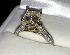 real 14k solid white gold 2 45c brilliant cut