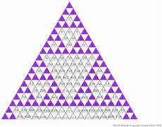 another sierpinski triangle pattern and more trigonometry pinterest triangle pattern