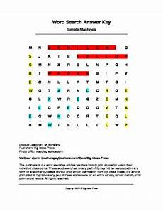 simple machines word search grades 1 3 by big ideas press tpt