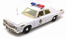 Voiture Sherif Fais Moi Peur Figurines Gt Voitures Gt S 233 Ries Gt Voiture Dodge Monaco 1974 De La S 233 Rie Sh 233 Rif Fais