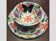 Cynthia Rowley Melamine Dinnerware & Serving Dishes for