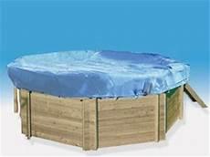 bache hivernage piscine bois octogonale 5 20m