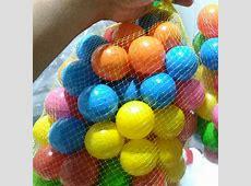 Jual bola plastik kecil mini diameter 4 cm seukuran